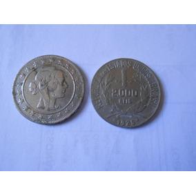 Moeda De 2000 Réis Prata 1925