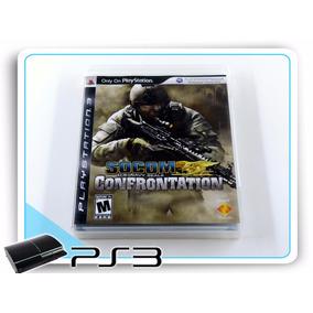 Ps3 Socom Us Navy Seals Confrontation Orig. Playstation 3