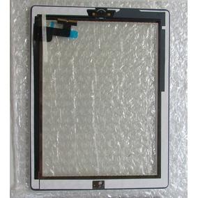Vidro Tela Ipad 2 Ipad2 Touch + Botão Preta Ou Branca