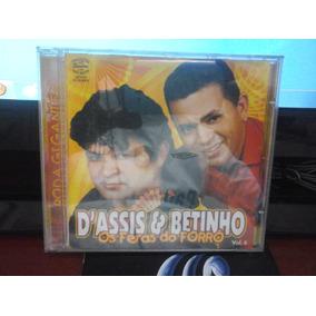 Cd D´assis & Betinho Os Feras Do Forró Vol 6