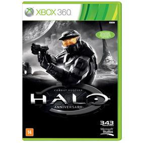 Halo Combat Evolved Anniversary Xbox 360 Original Mídia Físi