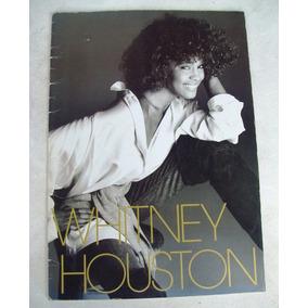 Whitney Houston Japan Tour Program Feels So Right 1990 Raro