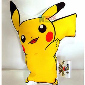 40 Almofadas Personalizadas Contornadas Pokemon + Brinde