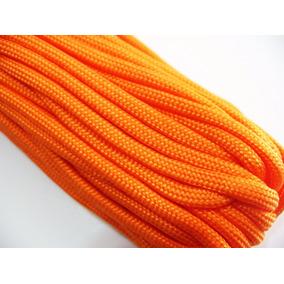 Cuerda D Paracaidas Paracord 30 Mts 100 Pies 550 Lb Orange