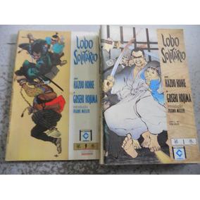 Coleção Lobo Solitário Do 1 Ao 9 (menos Nº8) Editora Cedibra