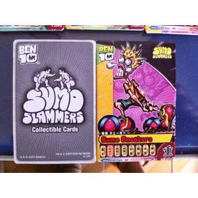 25 Cards Sumo Slammers Ben 10 Ben10 2007 Bandai Completa