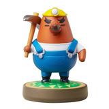 Figura Amiibo Mr. Resetti Animal Crossing Nintendo Wii U
