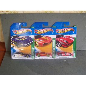 Conjunto Com 3 Hot Wheels T-hunt