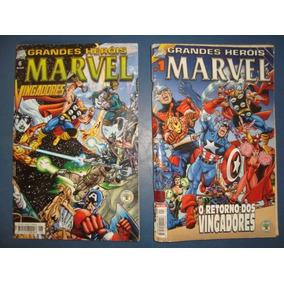 Grandes Herois Marvel - 2 E 6 (2ª Serie)