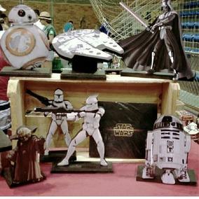 Star Wars Bonecos Totens