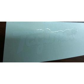 Decal Decalque Logotipo Tagima Branco Superior A Whaterslide