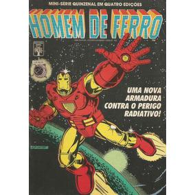 Minisserie Homem De Ferro 03 - Abril 3 - Bonellihq Cx07 B19