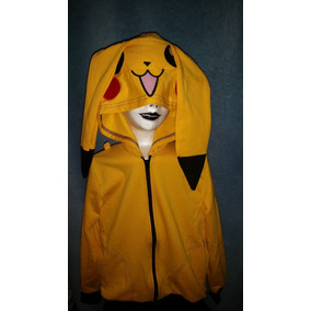 Sudadera Pikachu Pokemon Goth Punk Dark Cosplay Anime Catnip