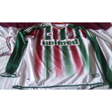 Camisa Do Fluminense. Manga Longa Nº 10 Ano 2005