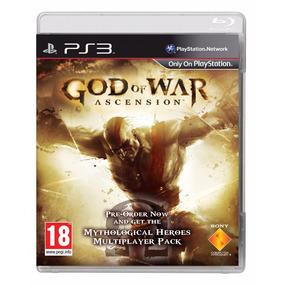 God Of War Ascension - Mídia Física / Ps3