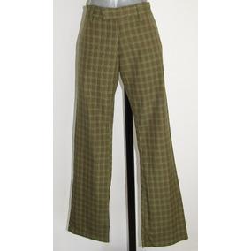 Rvca Pantalon A Cuadros Talla 30/32 Envio Gratis