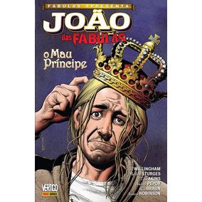 Joao Das Fabulas O Mau Principe Peq Dano Bonellihq Cx16 C19