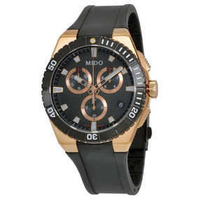 11a9564adff Relógio Mido Ocean Star Captain M023.417.37.051.00 Rose Gold