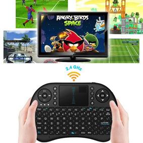 Mini Teclado Sem Fio Mouse Touchpad Pc Tv Box Not Ps3 Xbox