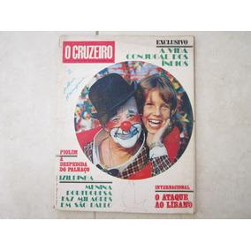 O Cruzeiro Nº18 - 1973 Índios, Palhaço Piolim