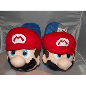 Bonitas Pantunflas De Mario Bros