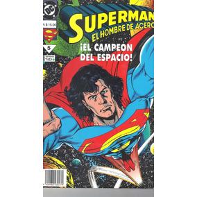 Superman El Hombre De Acero Nro. 5 - El Campeòn Del Espacio