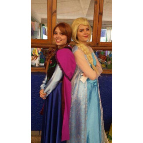 Disfraz Anna Frozen Adulta - Disfraces en Mercado Libre México 52f690c066a3