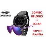 Kit Mormaii Relogio + Oculos De Sol Mo150c 43 + Flanela c47550562d
