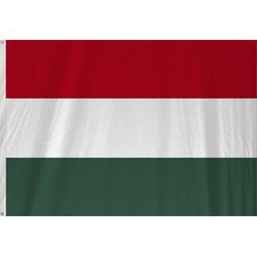 Hungria Bandeira Oficial Padrão Luxo Copa Nova Hungary