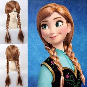 Disfraz Vestido Peluca Frozen Anna Y Elsa Niña Y Adulto 7ff89d7cc9ba