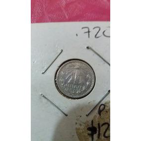 Moneda 10 Centavos Plata 1935,barata