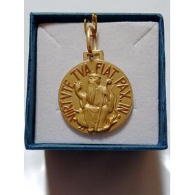 b44f5ea34d9e1 Medalha São Bento Ouro - Joias e Bijuterias no Mercado Livre Brasil