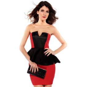 Vestido De Cóctel Mujer Hermoso Ropa Mujer Evento Boda Antro