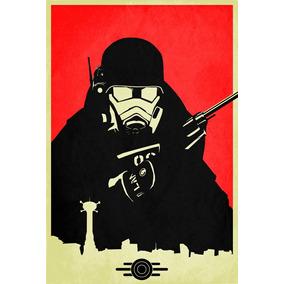 Fallout New Vegas - Pôster Do Game Em Alta Resolução