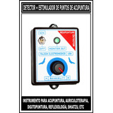 Detector + Estimulador De Puntos De Acupuntura: Nuevo Modelo
