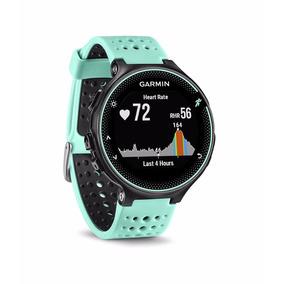 Relógio Monitor Cardiaco Garmin Forerunner 235 Hr Azul Novo
