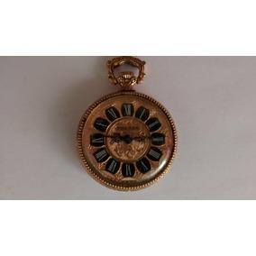 9191def5d1d Relógio Bolso Royce Plaquê Ouro Antigo Coleção Suiço omega ...