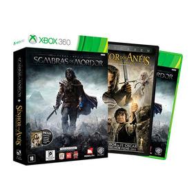 Shadow Of Mordor + Filme - Nacional - Xbox 360