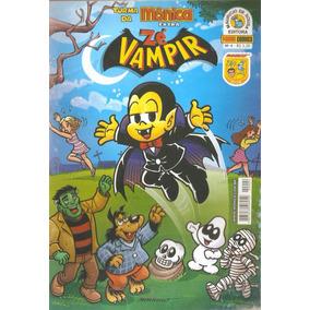 Gibi - Turma Da Mônica Zé Vampir Nº 4 Ed. Panini Comics