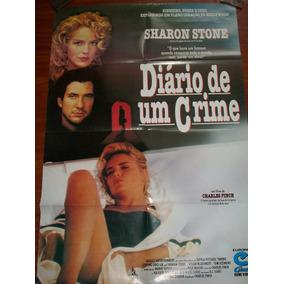 Cartaz Poster - Diario De Um Crime - Sharon Stone