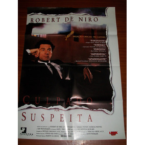 Cartaz Poster - Culpado Por Suspeita - Robert De Niro,