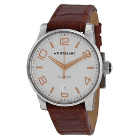 4aa9ab37fee Relógio Montblanc 105813 Timewalker Automatico Original