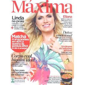 Revista Máxima 54: Eliana / Solte As Emoçoes Negativas