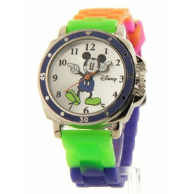 Reloj Mickey Mouse Multicolor Mk1190