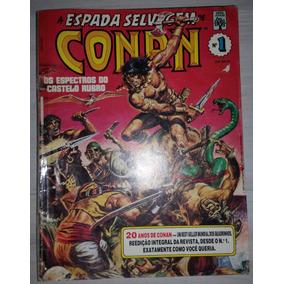 Gibi A Espada Selvagem De Conan Nº 1 Editora Abril 1990