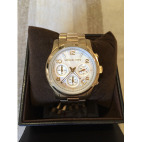 e7a8a9263db63 Relógio Michael Kors Dourado Mk 5305 Original E Novo - Relógios De ...
