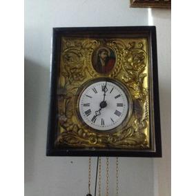 Antigo E Raro Relógio Floresta Negra De Parede Alemão # 8065