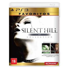 Jogo Novo Silent Hill Hd Collection Para Playstation 3 Ps3