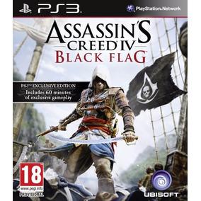 Assassins Creed Iv: Black Flag - Mídia Física / Ps3