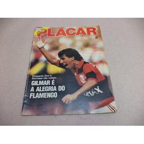 Revista Placar Nº 807 - 08 Novembro 1985 - Gilmar Flamengo